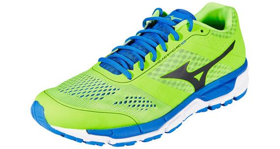 Mizuno Synchro MX - Zapatillas para correr - verde/azul